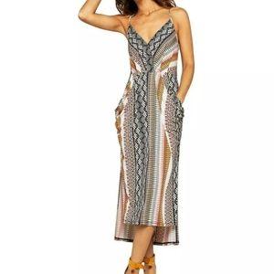 BCBGENERATION spaghetti straps maxi dress